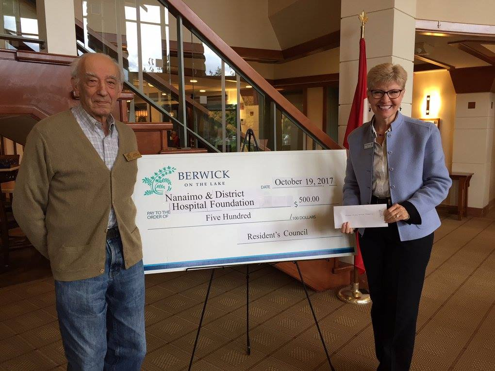 Berwick on the Lake residents donate for the second time in 2017