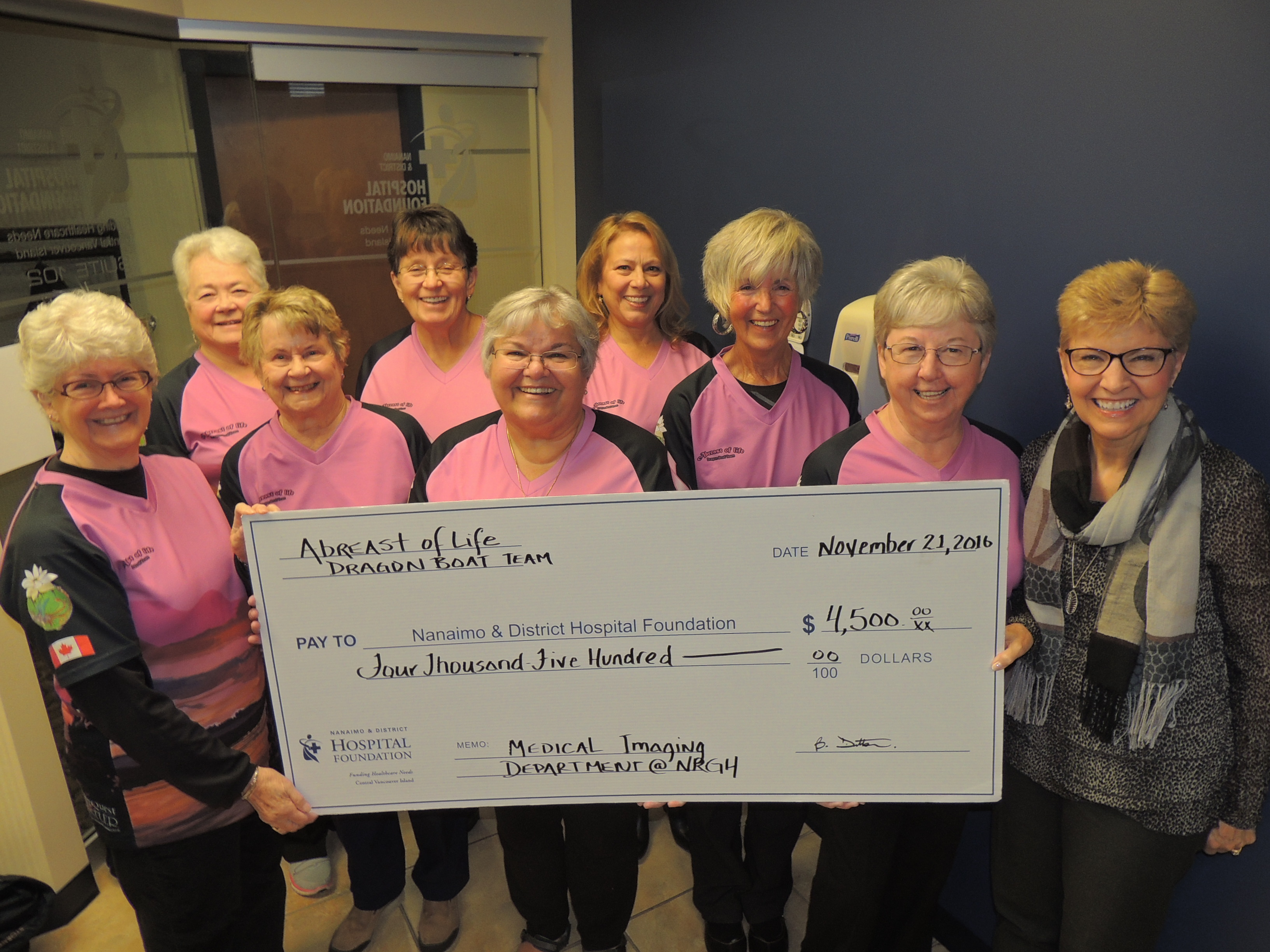 Survivors Give to Local Fight Against Cancer