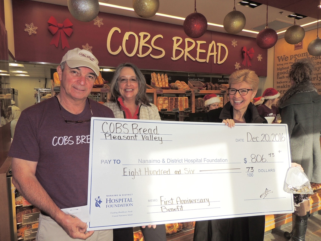 Cobs Bread Supporting Healthcare