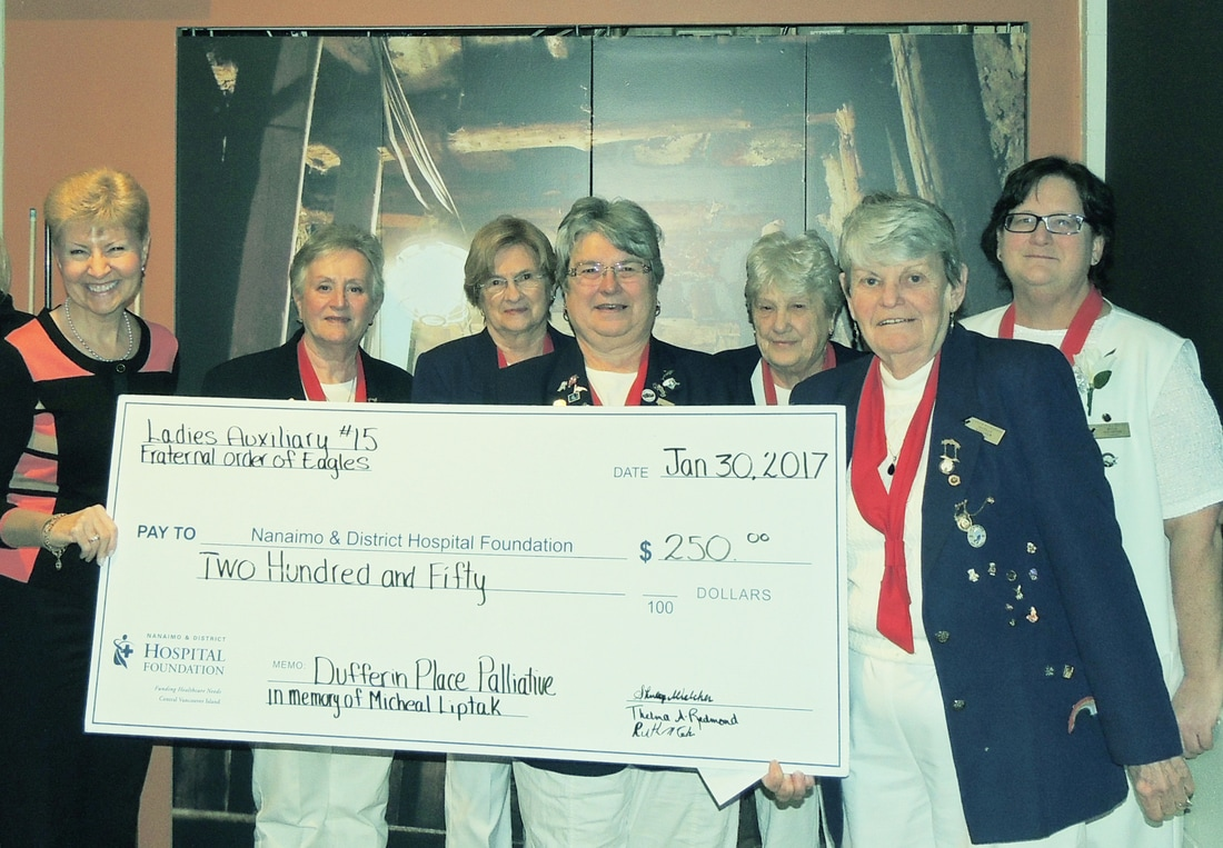Eagles Ladies Help Fund Palliative Care at NRGH