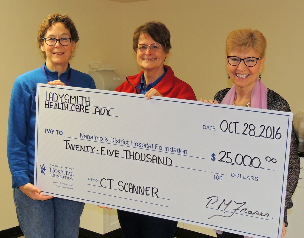 Ladysmith Health Care Auxiliary Shows Community Support