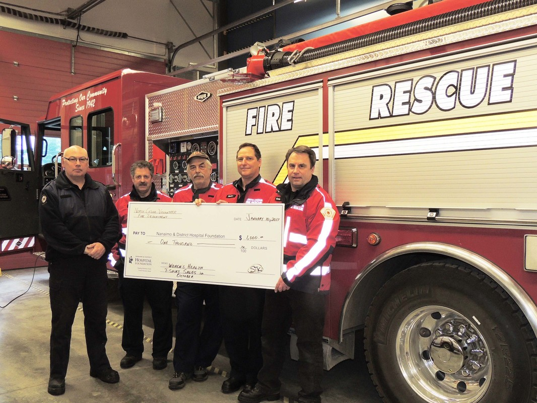 Local Firefighters Help in Battle Against Breast Cancer