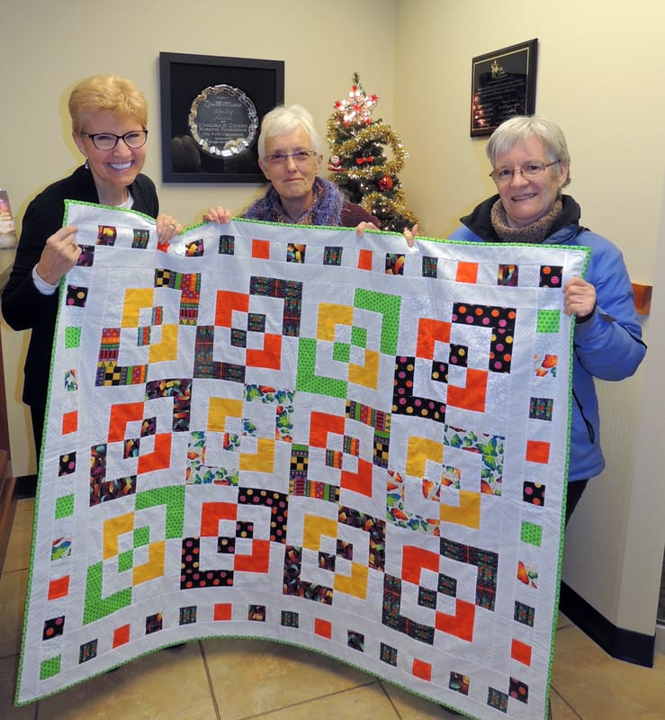 Quilters Guild Gives to Comfort Children