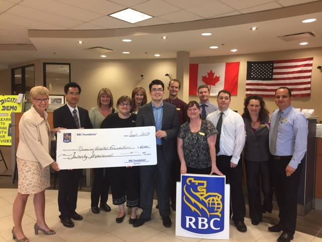 Central Island RBC branches support Oceanside Health Centre