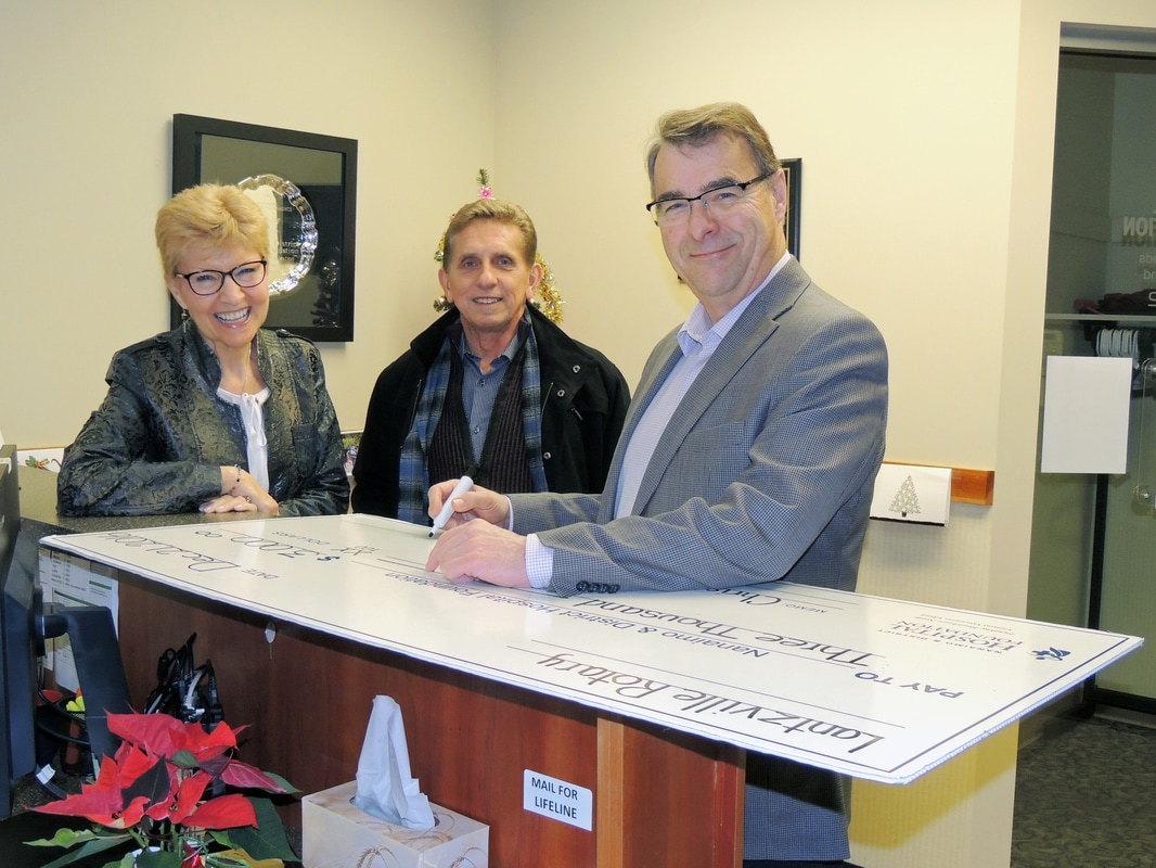 Rotary Club of Lantzville helps fund Christmas Campaign