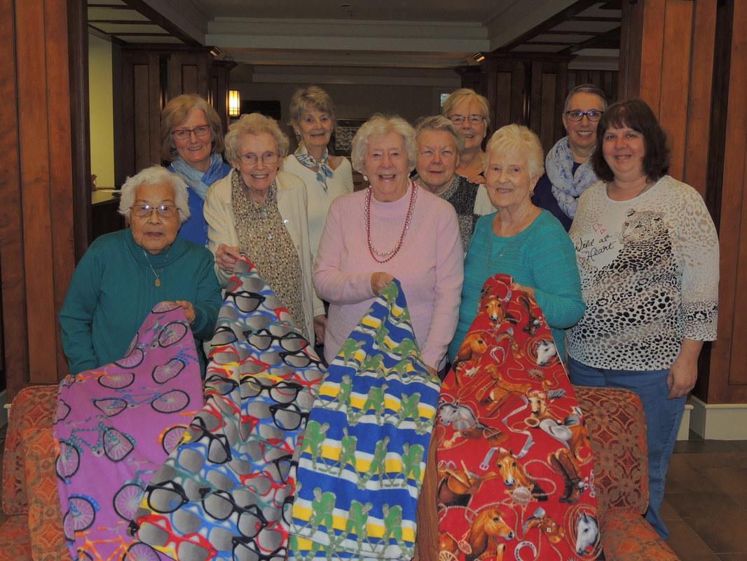 Stitch & Gab Ladies Help Children at Risk