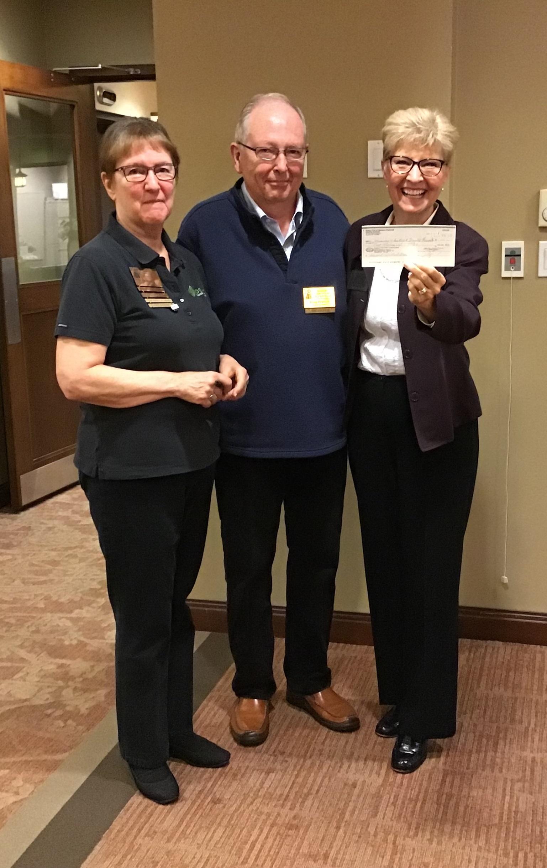 Rotary Nanaimo Daybreak Club donates $2,000.00