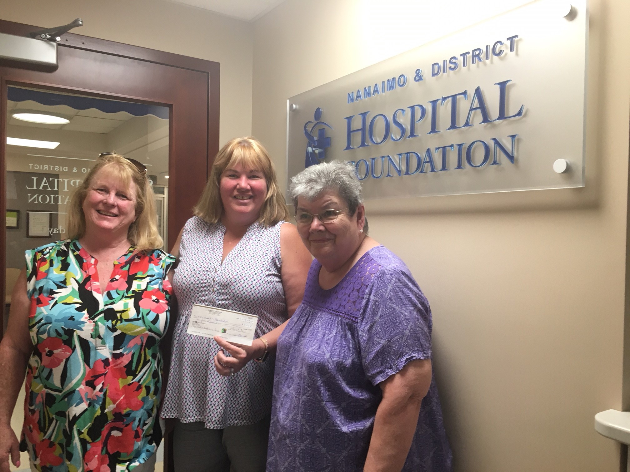 Women of the Moose support the NICU at NRGH