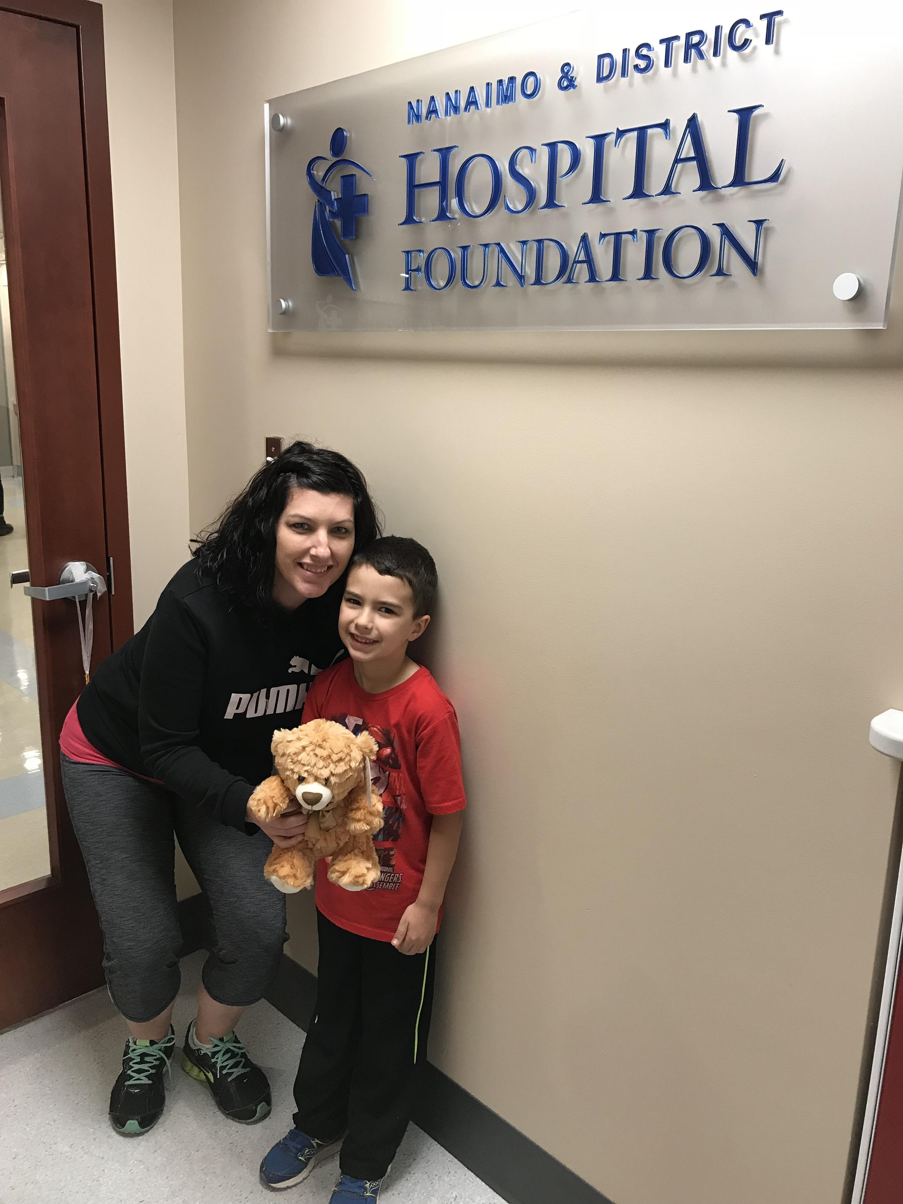 Jaxon Makes His First Donation