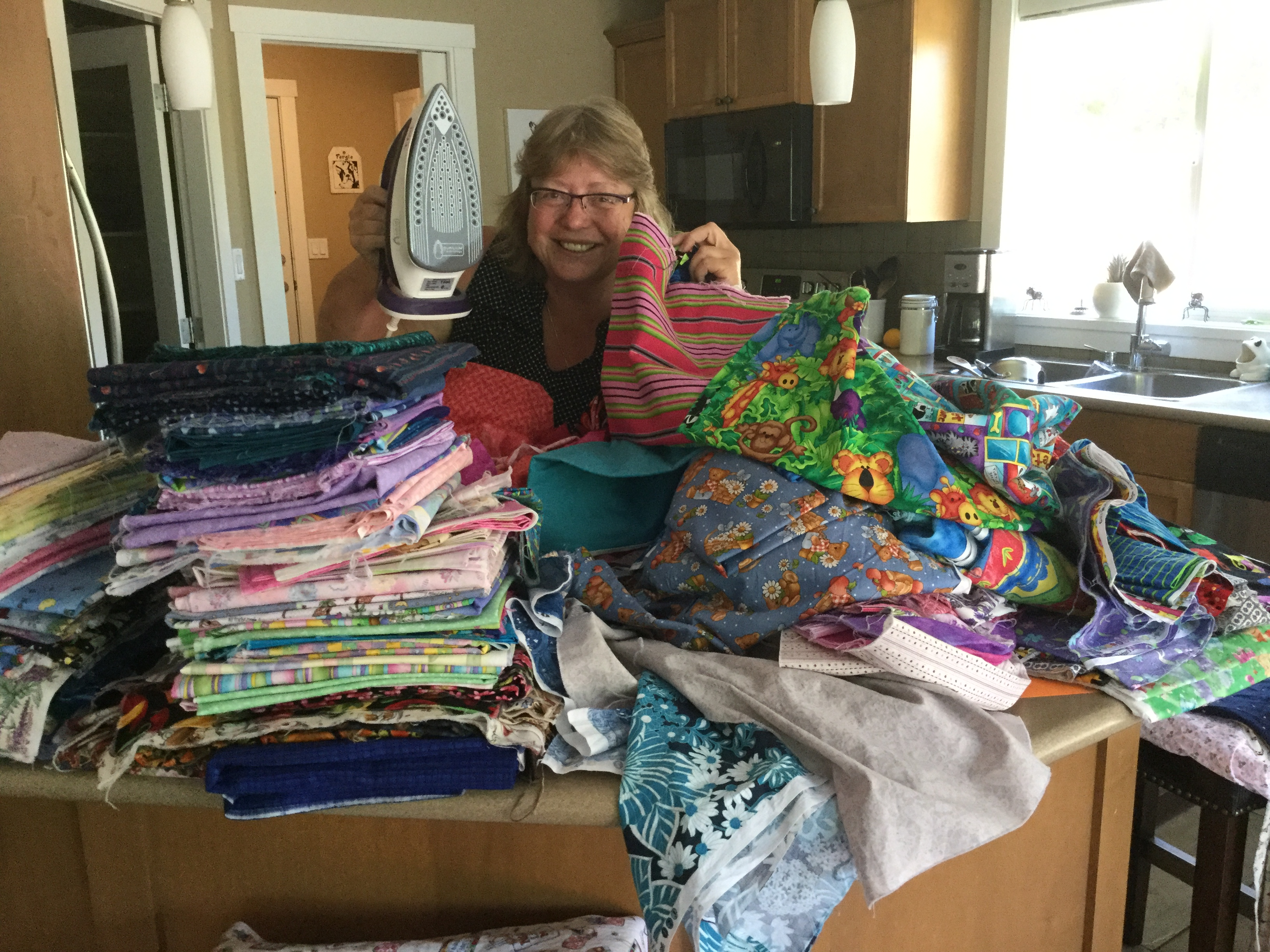 Parksville Quilters Guild continues to create and donate.