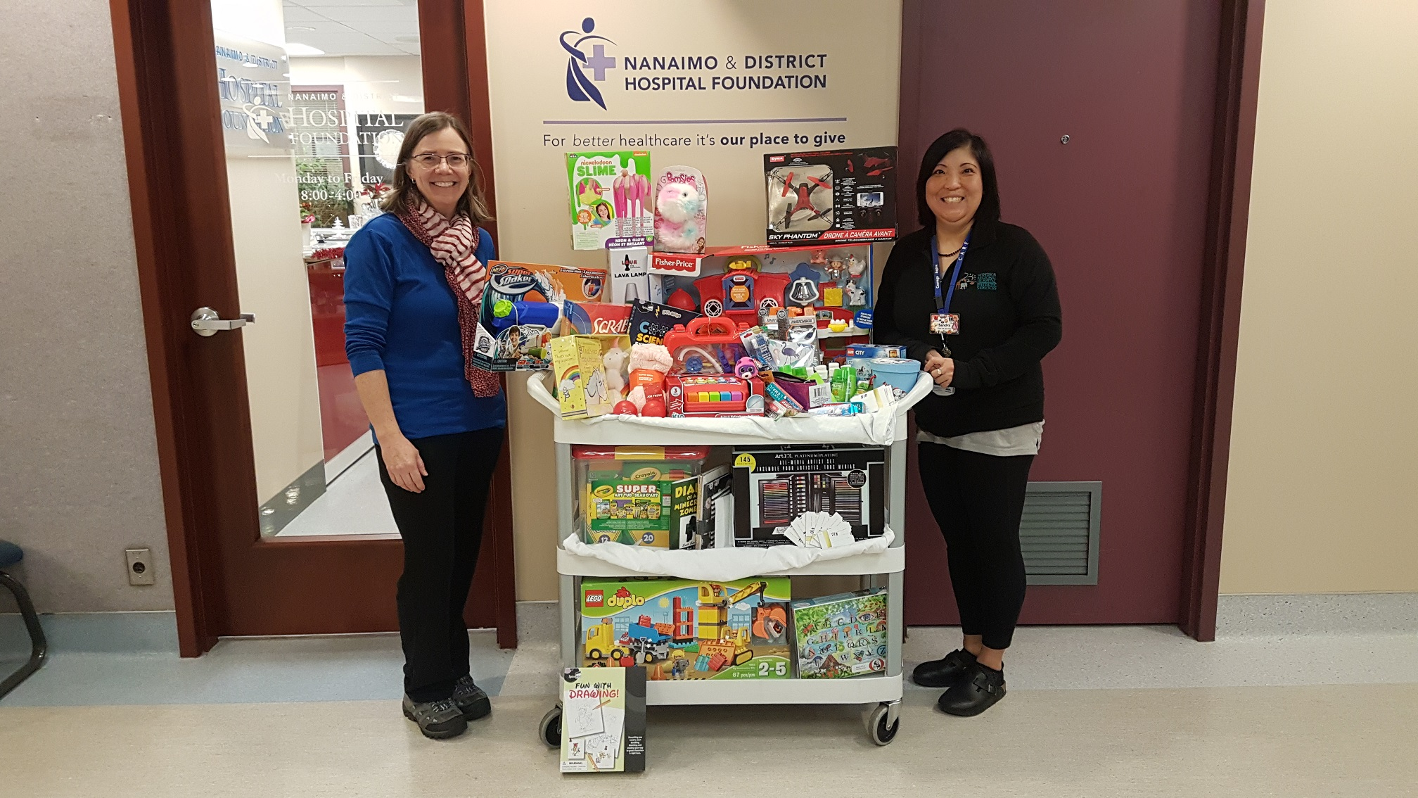 NRGH Lab Donates Toys to the Paediatric Department