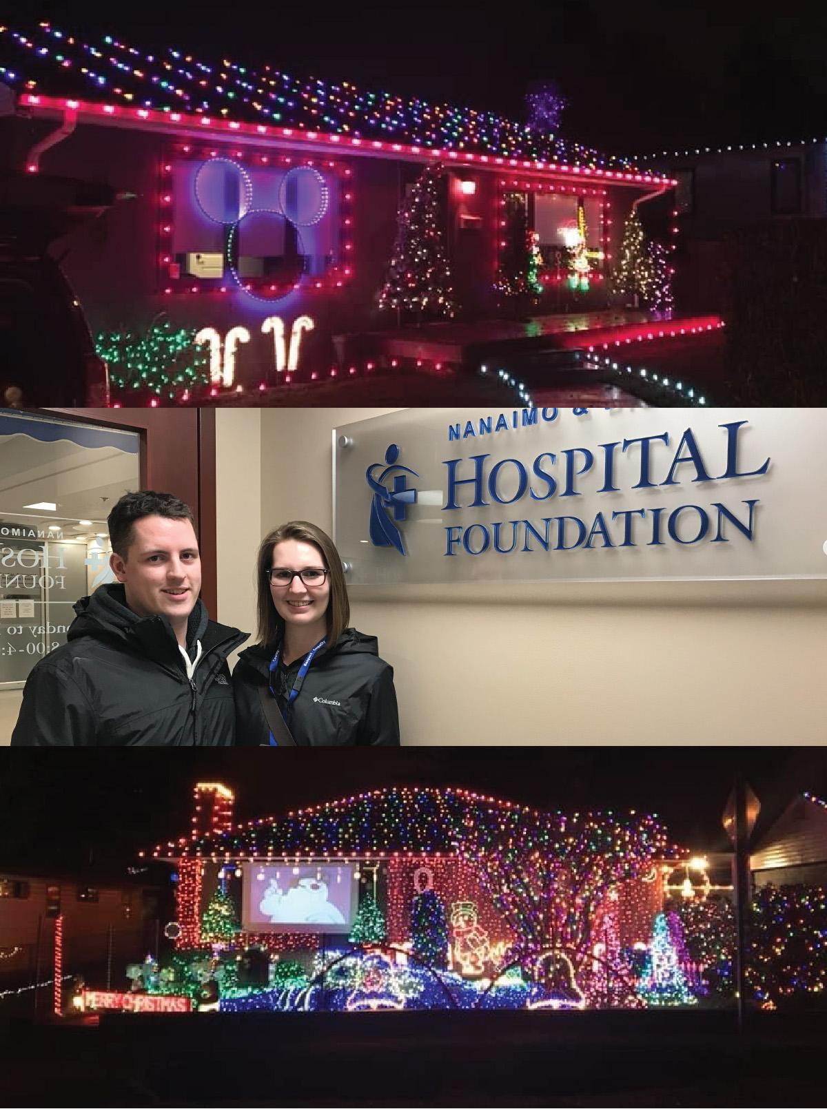 Christmas Display Brings in Donations