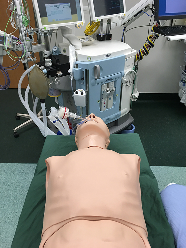 New Mannequin for O.R. Department