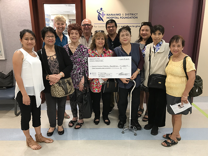 Generous Gift from Filipino Community