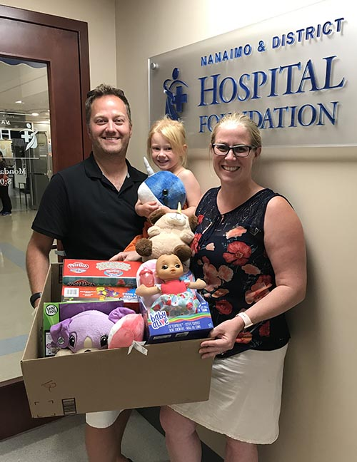 Birthday Party Results in Toys for Hospital!