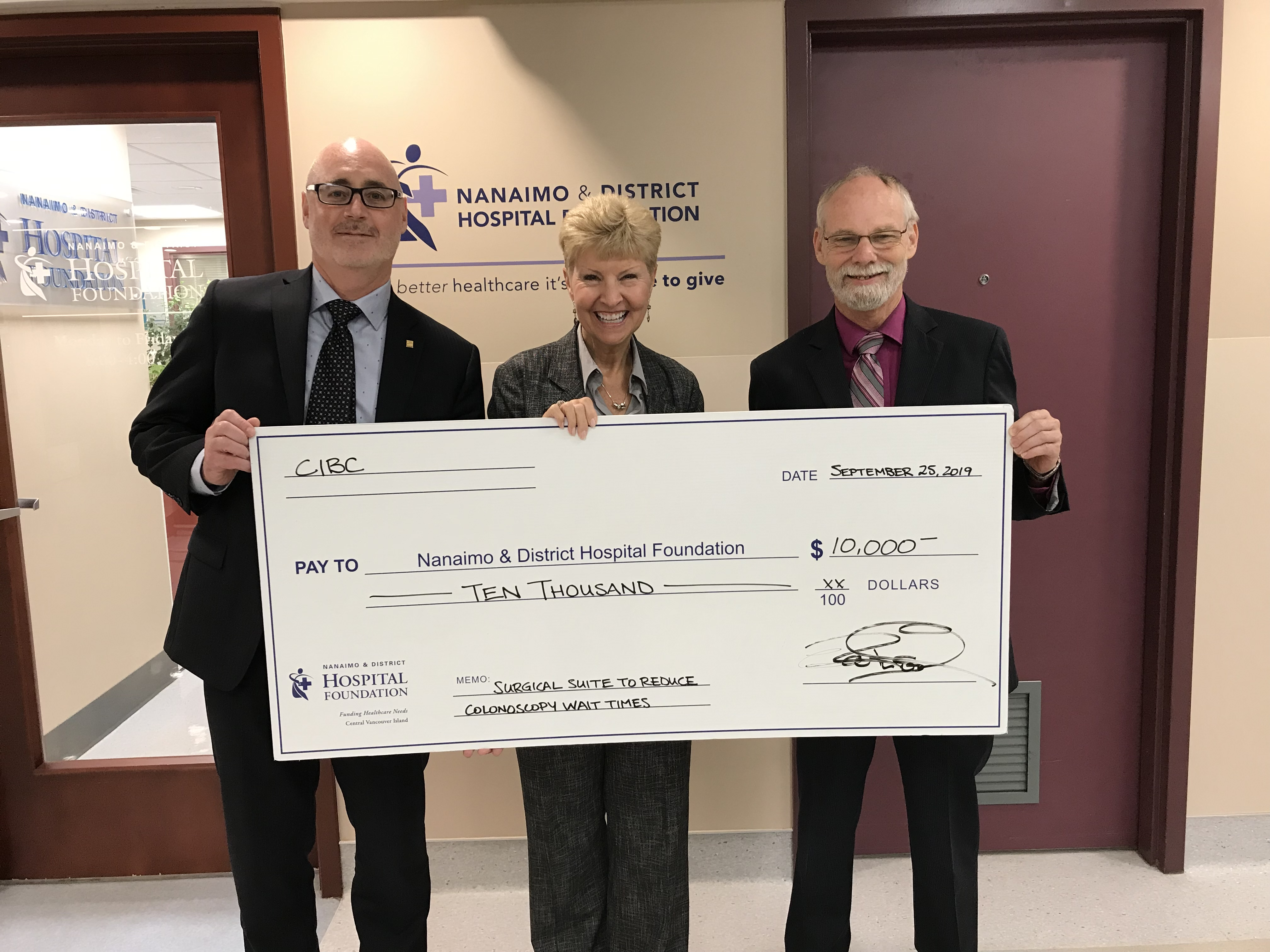 CIBC Helping to Fight Colon Cancer