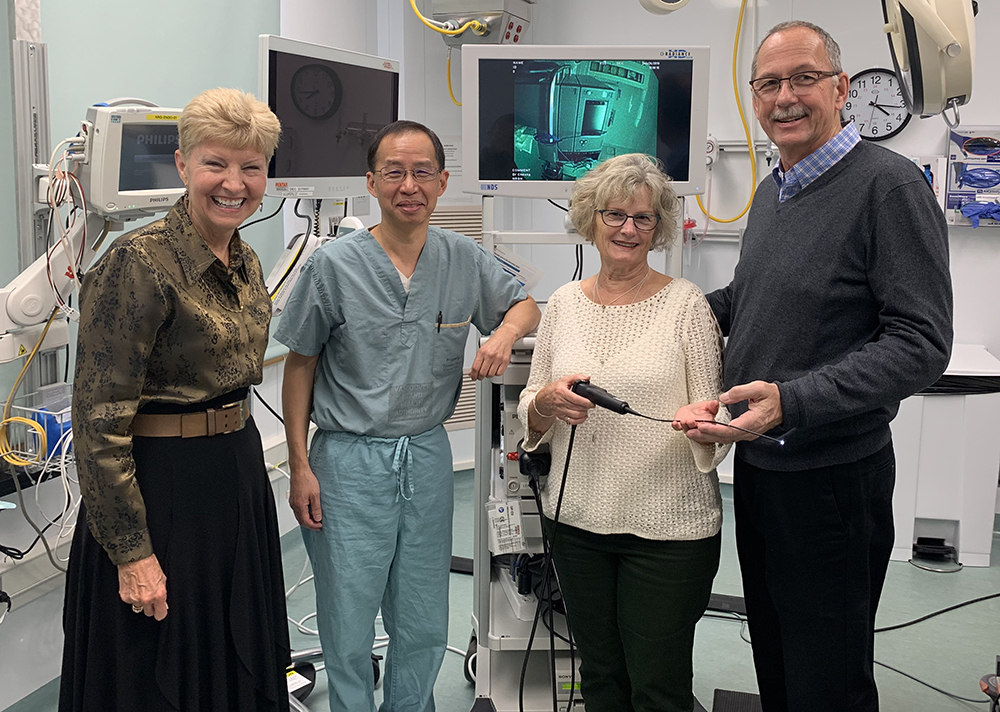 Matching Donation Secures New Medical Equipment